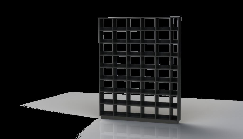 DVD Shelves with Riser Box